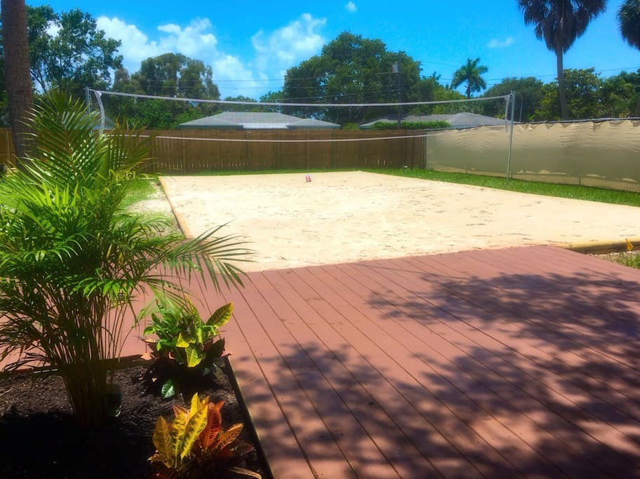 beach voleyball court