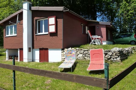 Very nice Swiss Chalet in Jura - Lajoux - Haus