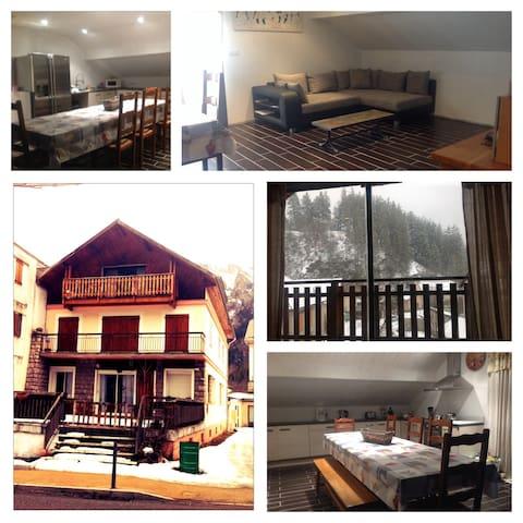 location appt 6/8 pers près orcière - Saint-Jean-Saint-Nicolas - Apartamento