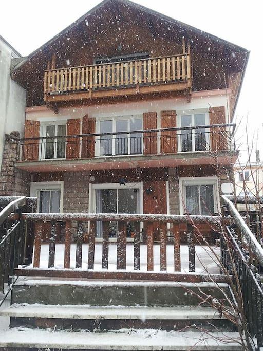 un jour de neige