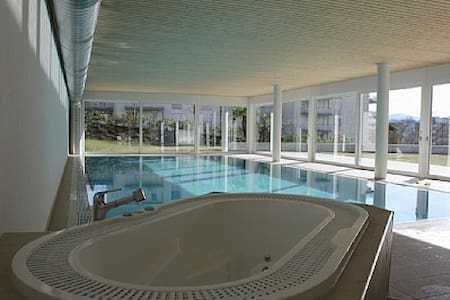 Apartment: indoor pool and gardens - Lugano