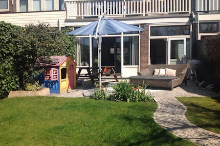 Sunny & Light Family house with Garden - Oegstgeest - Дом
