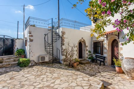 Traditional Island Village Home - Drapanos