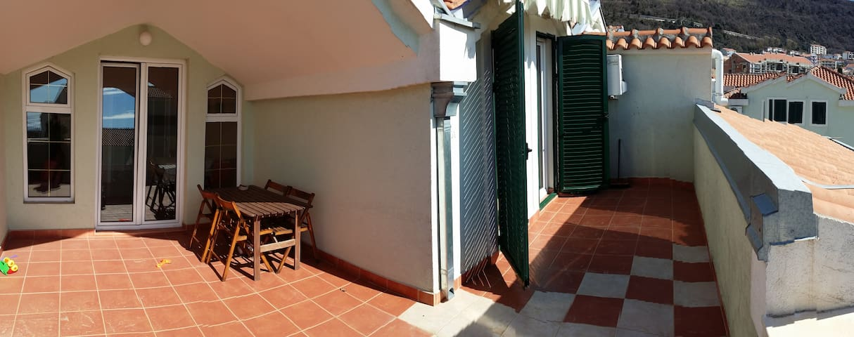 Квартира люкс с огромной террасой.