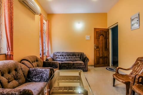 Comfortable 1 BHK apartment near Colva & Majorda 1