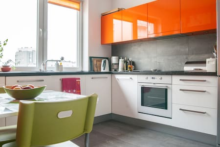 SPACIOUS, COMFY - JUST GREAT - Warsaw - Apartmen