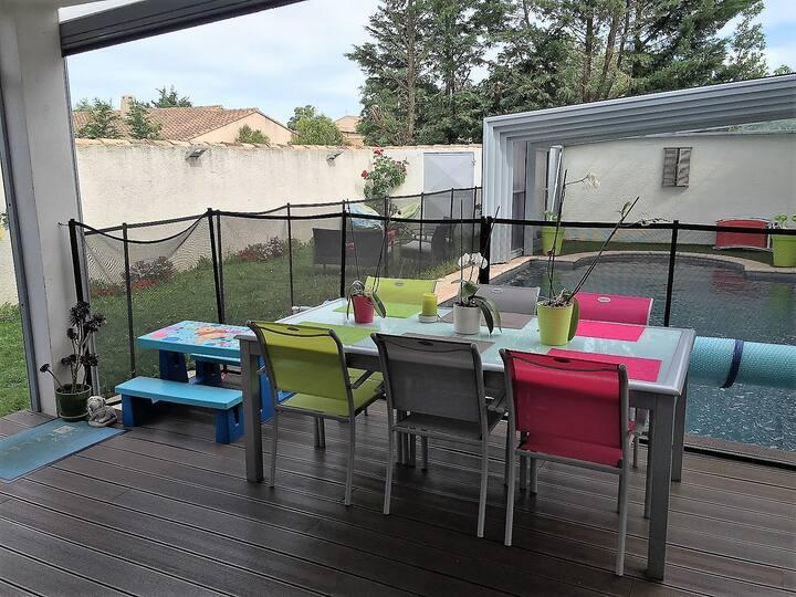 Maison familiale à Salon de Provence avec piscine