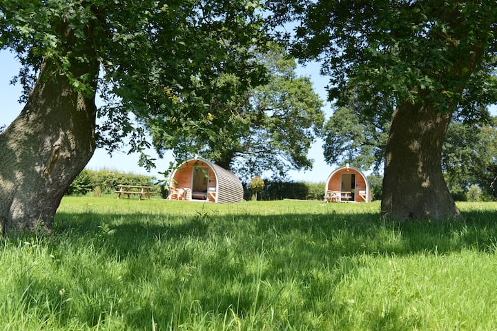 Heated Luxury Glamping Pod