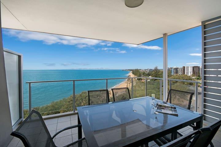 Redvue Luxury Apartments - 3 Bed Oceanview Apt - Redcliffe - Apartemen