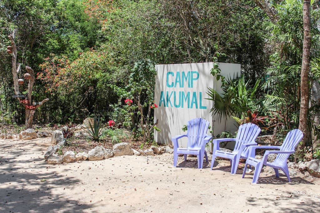 You will find Camp Akumal!