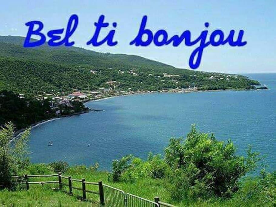 Un petit bonjour de la Martinique