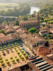 Chambre au coeur de la Bastide XIII - Lisle-sur-Tarn
