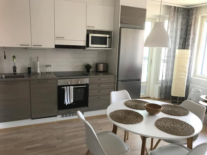 New apartment near airport, Helsinki center 27min