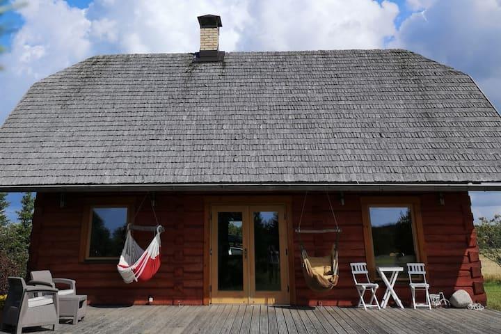"""""""LaOtti"""" holiday house near the Baltic sea"""