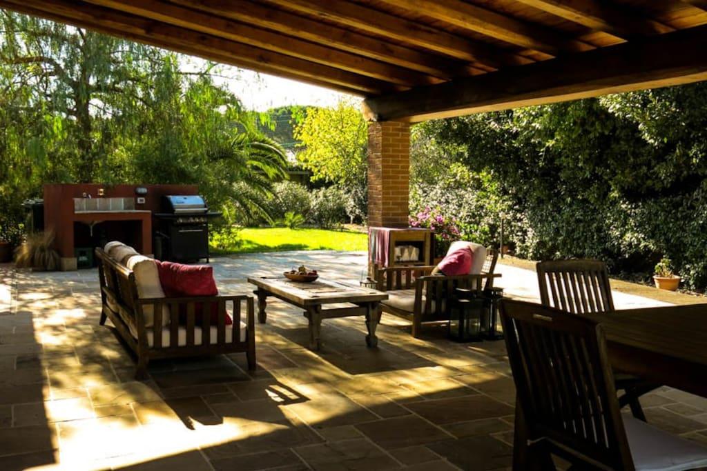 Peaceful haven in maccarese near rome villa ville in - Riscaldamento alternativo in casa in affitto ...