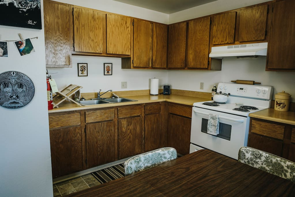 Kitchen. Fully equipped for your cooking needs.