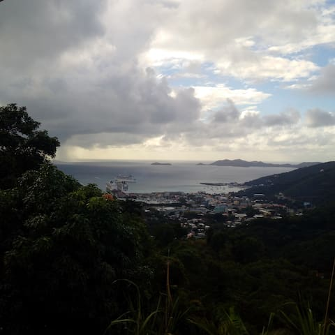 Majestic View of Road Town, Tortola - Road Town