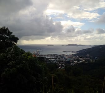 Majestic View of Road Town, Tortola - Road Town - Casa