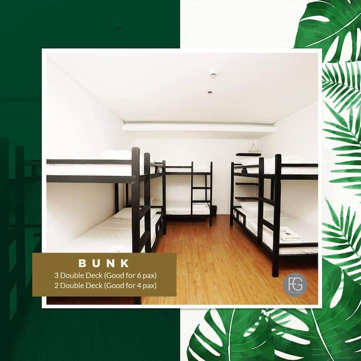 Hostel for 6 pax in Quezon City near UP/Katipunan