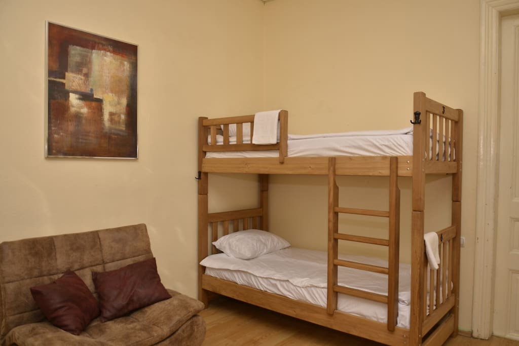 Room with 5 Bunk beds