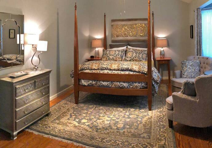 The Goldfinch Suite at Harpers Ferry Guest House