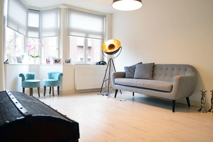 Bright and Modern apt next to the Flevopark! - Amsterdã - Apartamento