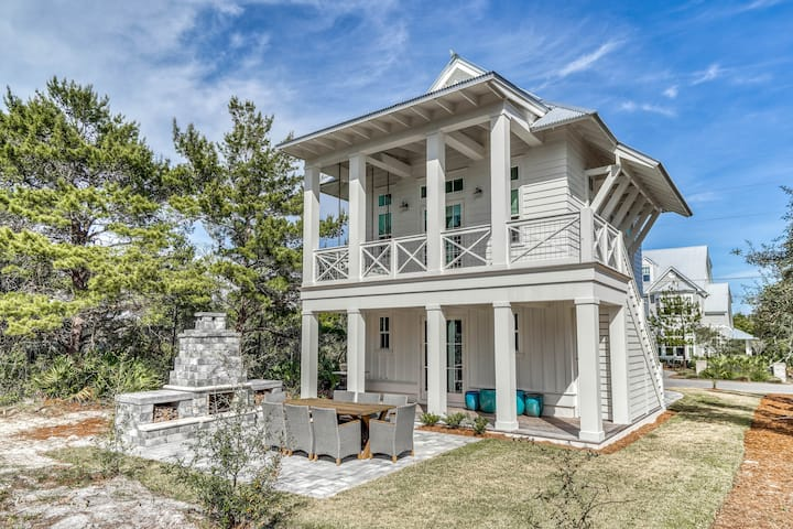 Sugar Shack - Seacrest Beach Vacation Rental Home, Steps to the Beach!