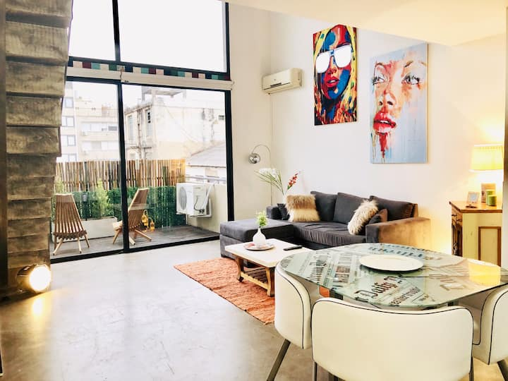 Cool loft apartment in Palermo Hollywood
