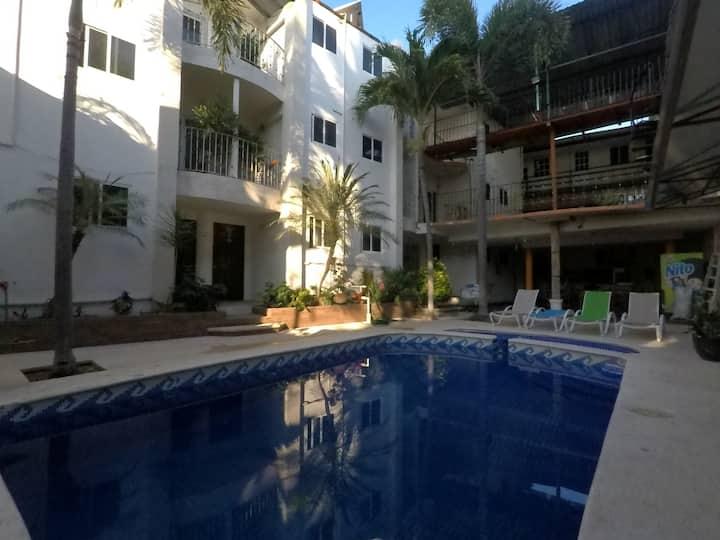 Habitación King Size, Acapulco, Hotel Ashly