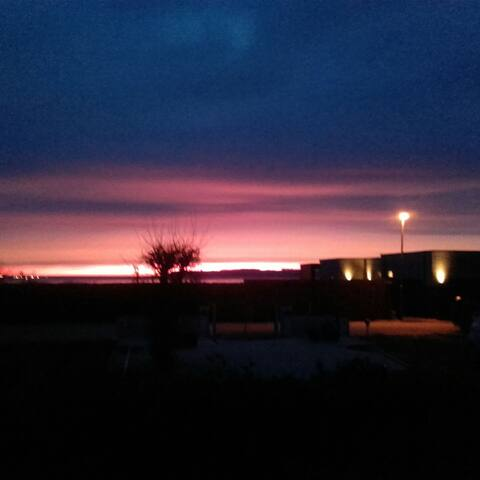 Morgensol ved Lillebælt