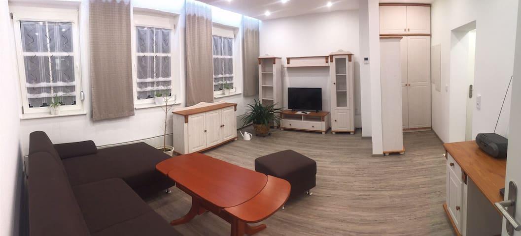 Zentral gelegene moderne Wohnung mit Balkon