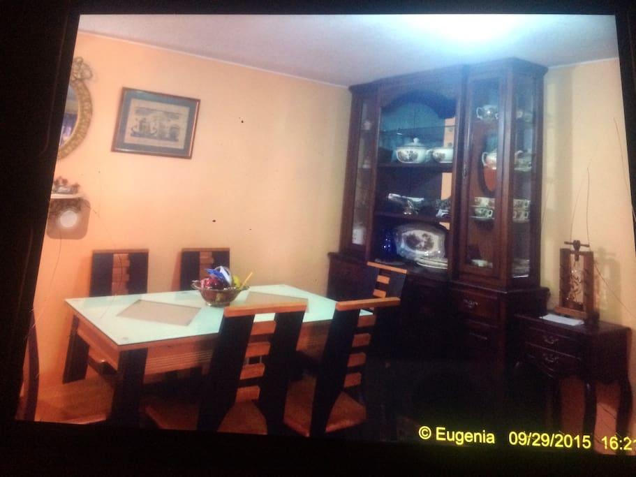 El salón comedor