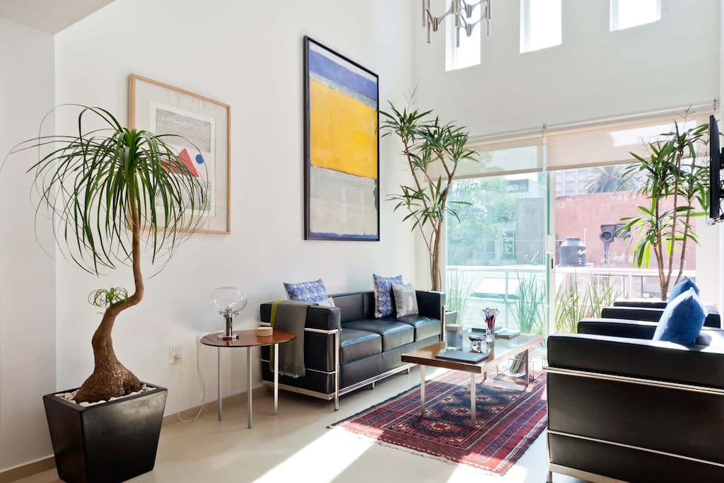 Living Room, bright and airy.