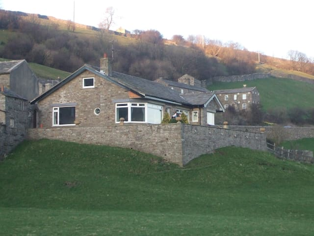 3-bed Yorkshire Dales cottage with stunning views - North Yorkshire - Hus