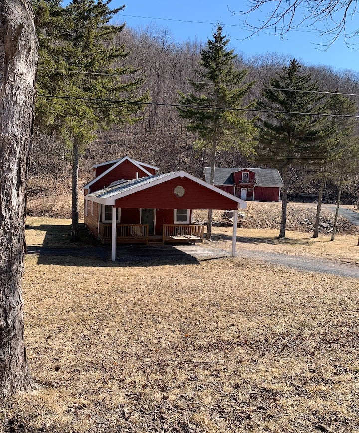 Cozy Country Cabin on Diamond Notch Horse Farm
