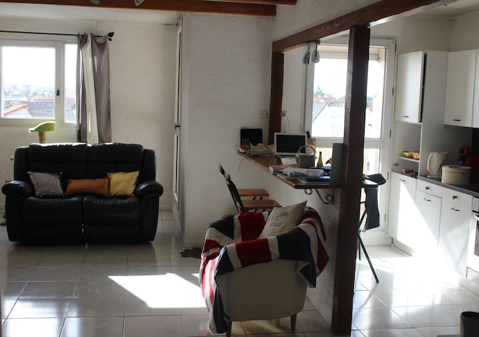 Argenteuil : appartement lumineux & cosy