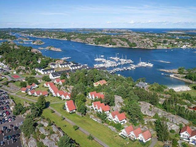 Feriehus lokalisert ved Scandic hotel på Tjøme