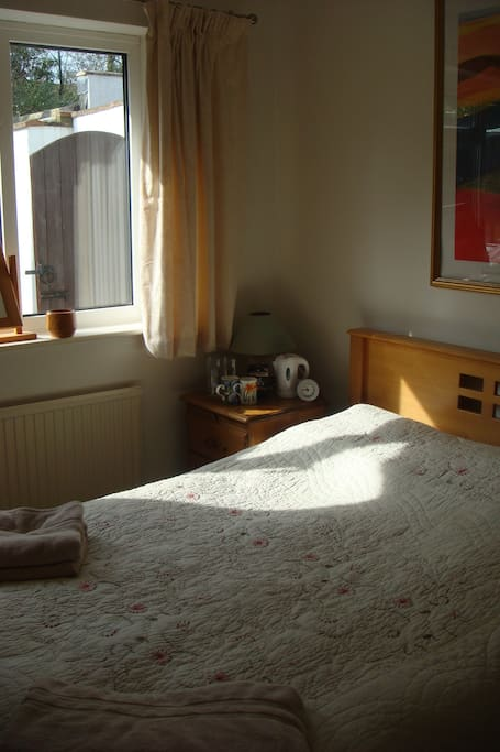Double bedroom with tea and coffee making facilities