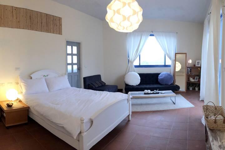 「丰禾日麗」山景陽台雙人房 - Dasi Township - 公寓