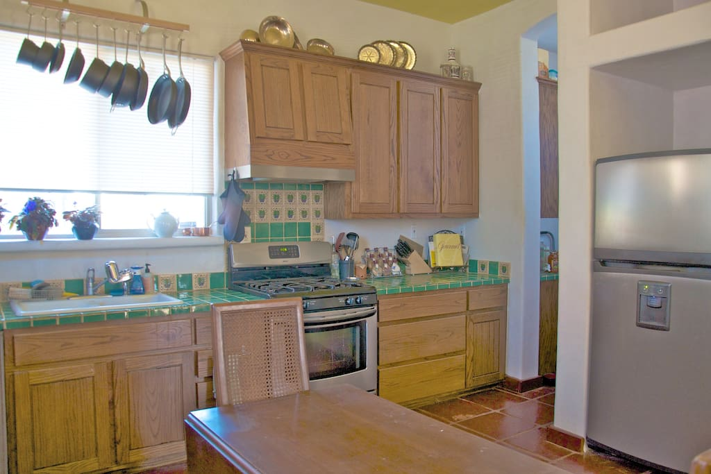 Kitchen for longer tennants if agreed upon in advance