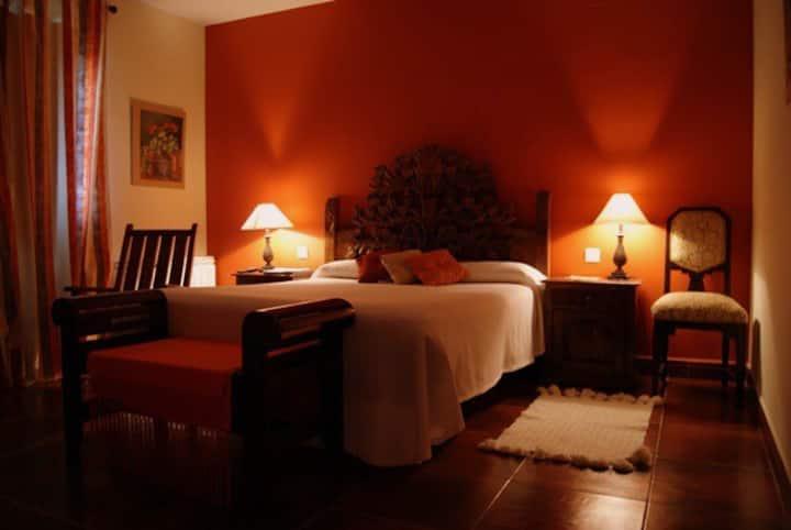 Habitacion doble en hotel con encanto