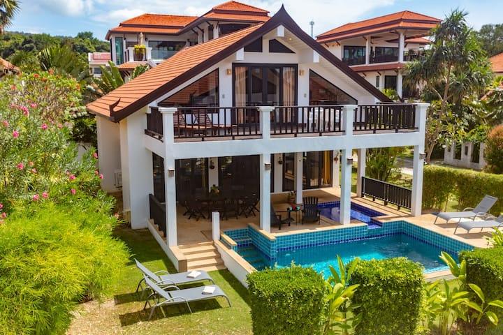 Malee Beach Pool Villa A9, Koh Lanta, Krabi