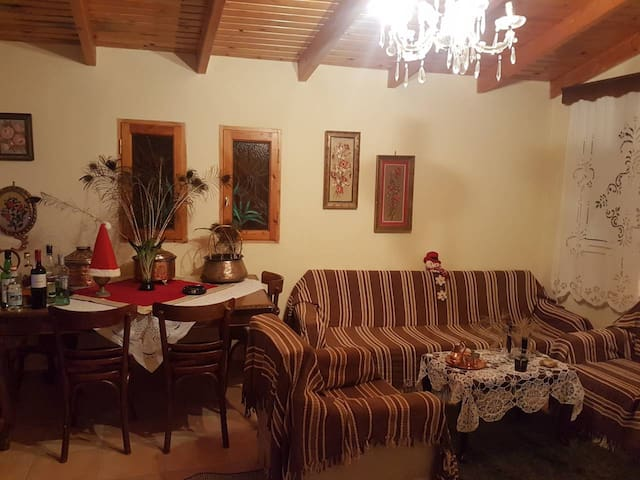 Traditional House in Soulinari,Korinthia fast WiFi