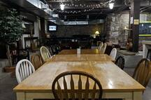large dining area in our community area