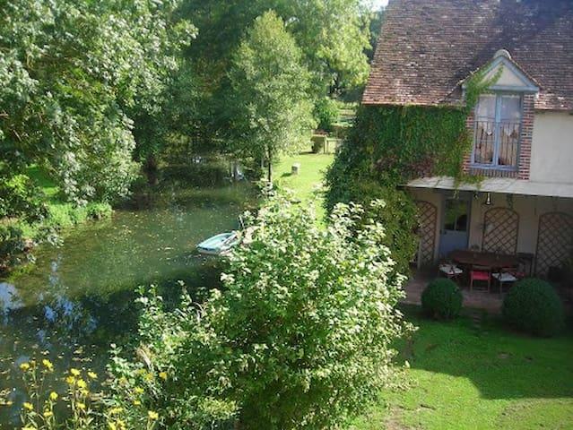 Le Foulon - Moulin de Charme - Saint-Hilaire-les-Andrésis - Casa