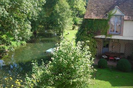 Le Foulon - Moulin de Charme - Saint-Hilaire-les-Andrésis