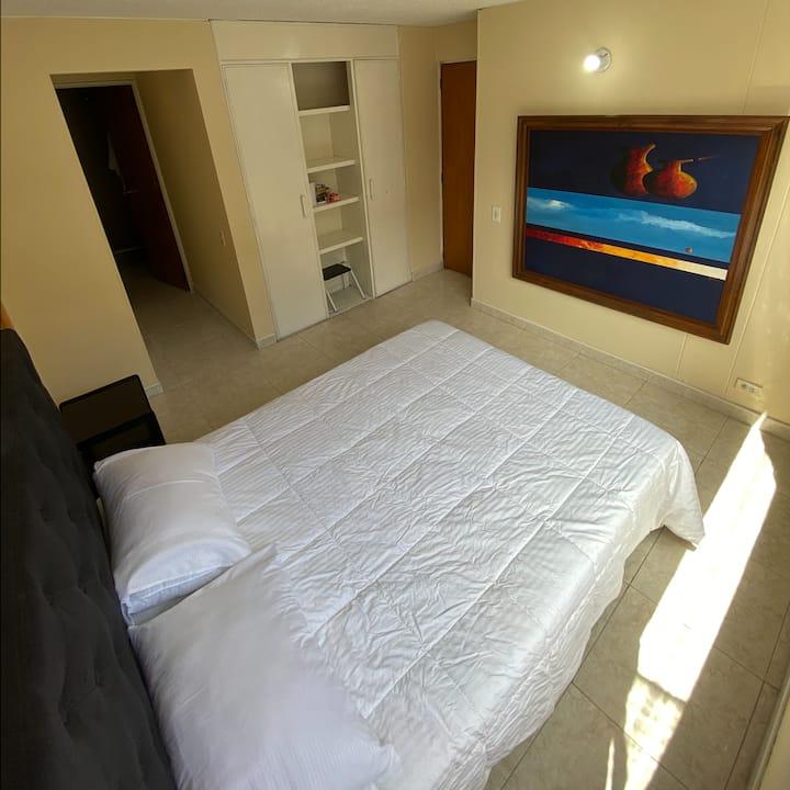 Apartamento en conjunto residencial bien ubicado