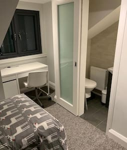Top floor En-Suite bedroom with view