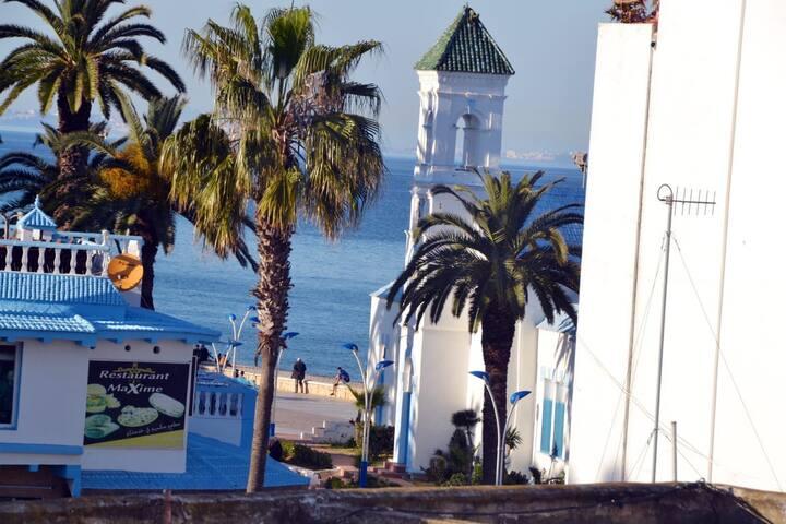 Sea view studio in M'diq