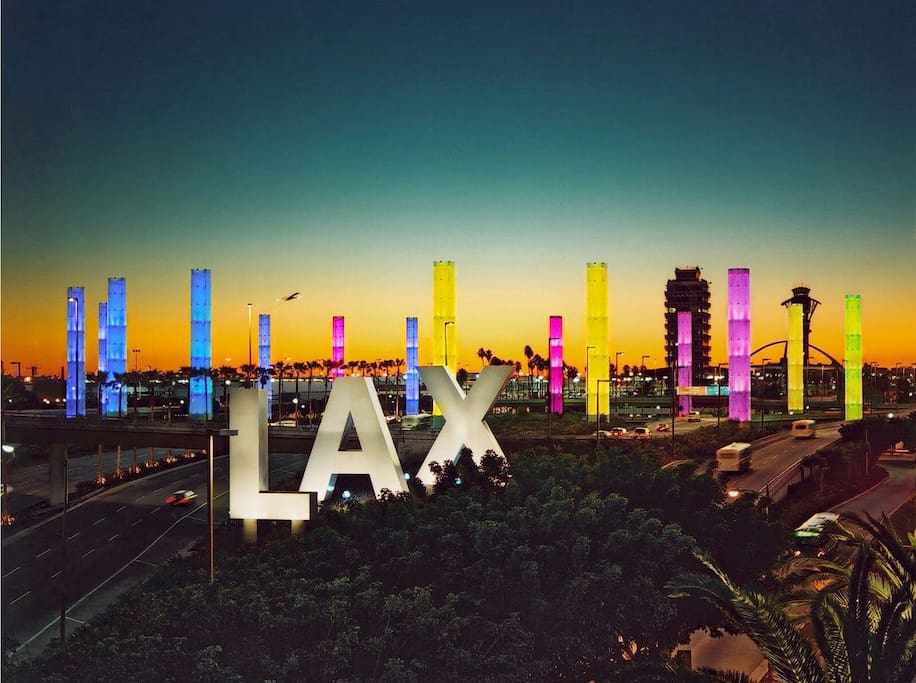WE ARE ONLY MINUTES AWAY FROM LAX AIRPORT!